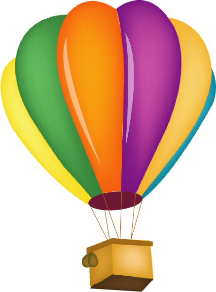 hot air balloon clip art at clker com vector clip art online rh clker com hot air balloon clip art template hot air balloon clip art pictures