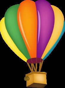 hot air balloon clip art at clker com vector clip art online rh clker com hot air balloon clip art pictures hot air balloon clipart black and white