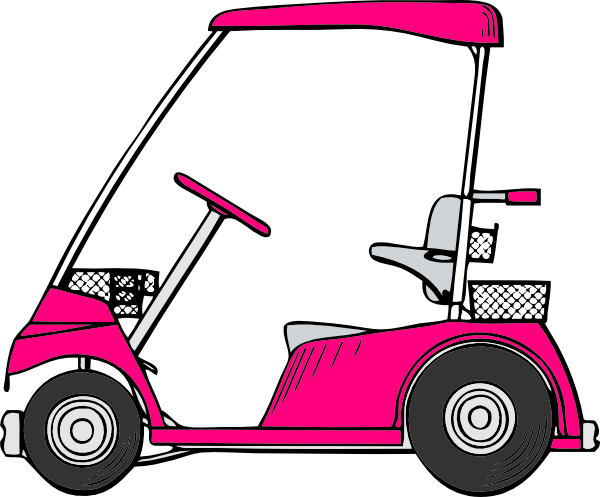 pink golf cart clip art at clker com vector clip art online rh clker com lady driving golf cart clip art animated golf cart clip art