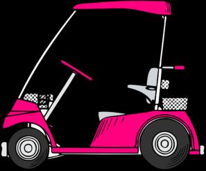 Clip Art Golf Cart Clipart pink golf cart clip art at clker com vector online art