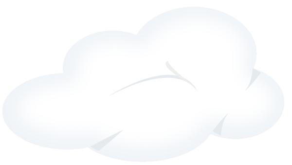 White Clouds Clip Art at Clker.com - vector clip art ...