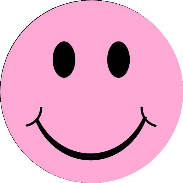 Pink Happyface clip artPink Sad Face