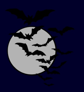 Bat Night Clip Art