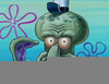 Squidward Gets Scared Image