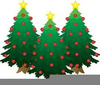 Christmas Tree Lights Clipart Image