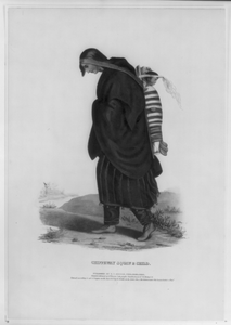 Chippeway Squaw & Child Image
