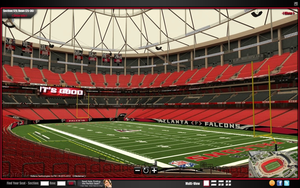 Atlanta Falcons Seat View Image