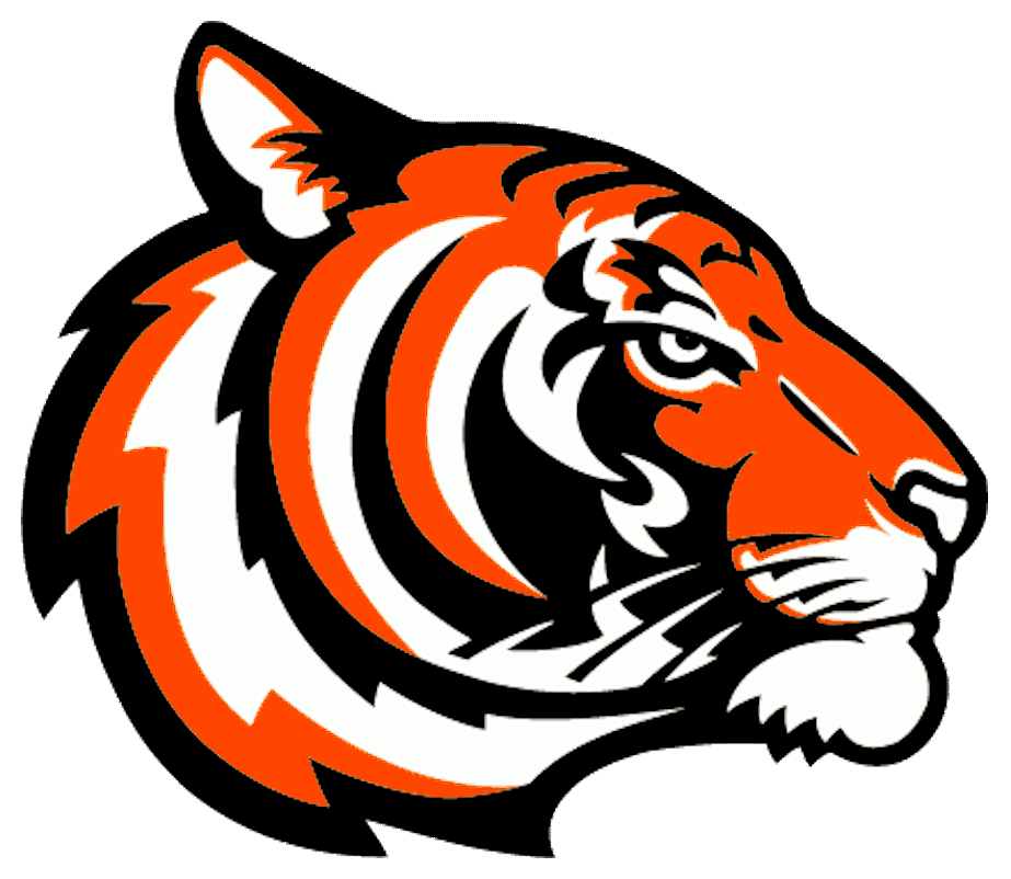tigers logo orange free images at clkercom vector