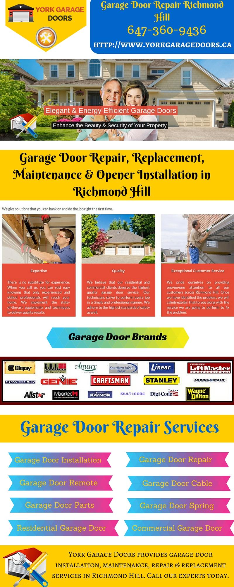 Garage Door Repair And Installation Service In Richmond Hill Free