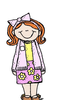 Lds Primary Girl Clipart Image