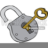 Clipart Padlock And Key Image