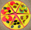 Pizza Fraction Clipart Image