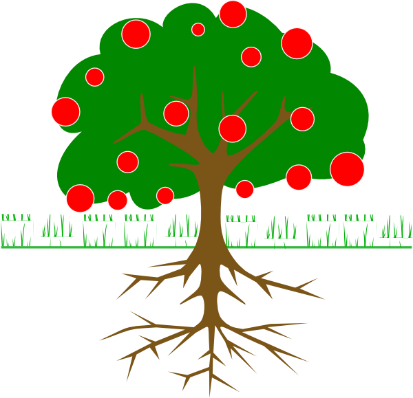 free fruit tree clipart - photo #1