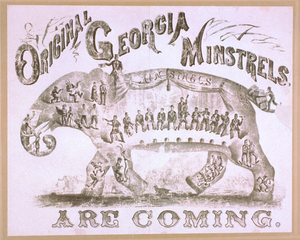 Original Georgia Minstrels Are Coming Image