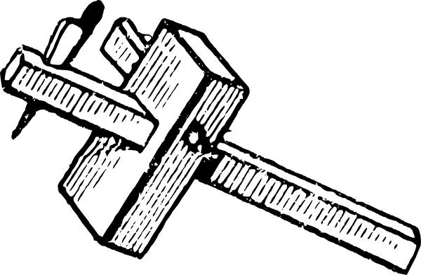 Marking Gauge Clip Art At Clker Com Vector Clip Art