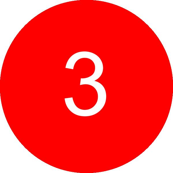 3 Inside A Circle Clip Art At Clker Com Vector Clip Art