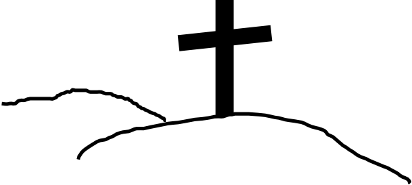 cross on hill clip art at clker com vector clip art online rh clker com crosses clip art free crosses clip art free