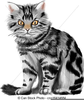 Red Cat Clipart Image