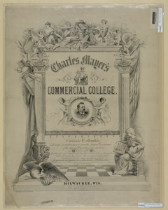 Charles Mayer S Commercial College, Milwaukee, Wis. Image