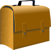 Leather Business Suitcase Clip Art