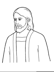lds clipart jesus black white free images at clker com vector rh clker com lds clipart jesus and the lamb lds clipart jesus praying
