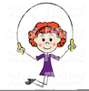 Jump Rope For Heart Clipart Image