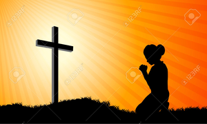 Free Clipart Praying Woman Image