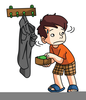 Free Clipart Of Kid Reading Image