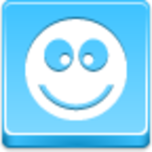 Free Blue Button Icons Ok Smile Image
