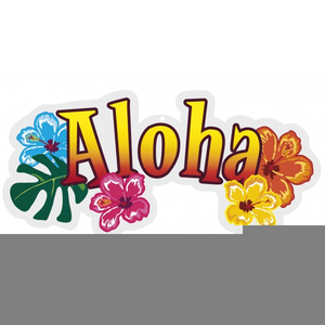 Aloha Word Clipart Free Images At Clker Com Vector Clip Art Online Royalty Free Public Domain