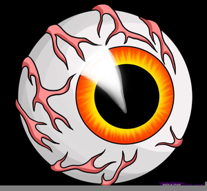 Halloween Eyeball Clipart   Free Images at Clker.com ...