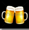 Mugs Of Beer Clipart Image