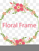 Free Floral Border Clipart Image