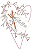 Primitive Country Clipart Embroider Image