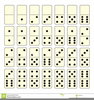 Domino Set Clipart Image