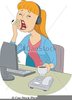 Yawn Clipart Image