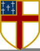 Episcopal Shield Clipart Image