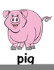 Bbq Pig Clipart Free Image