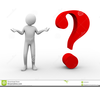 Person With Question Mark Clipart Image