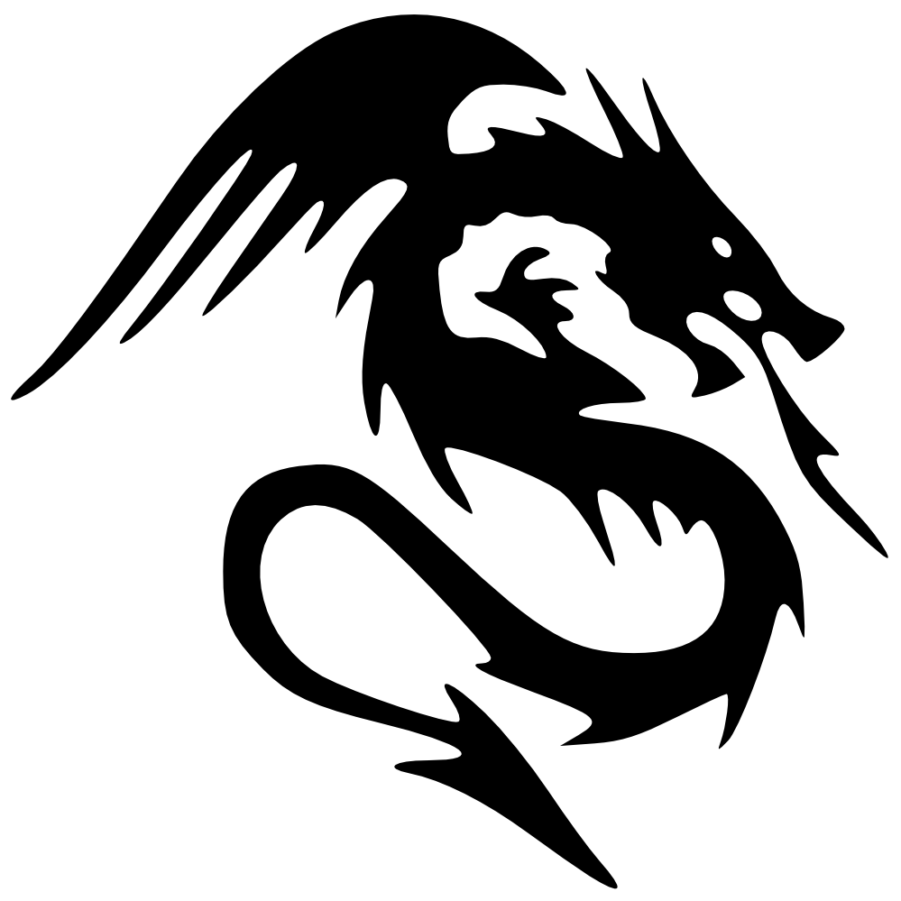 Black Dragon Px | Free Images at Clker.com - vector clip ...