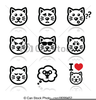 Angry Cat Clipart Image