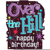 Free Over The Hill Birthday Clipart Image