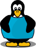 Penguin With A Shirt Clip Art