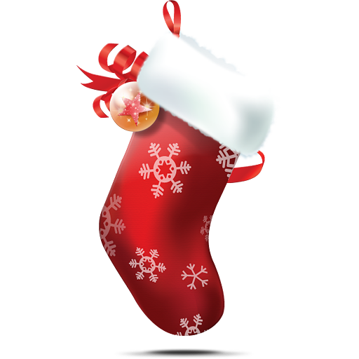Christmas stocking 1 free images at clker com vector clip art