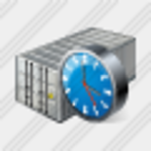 Icon Container Clock Image