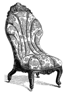 Victorian Illustration Clipart Image