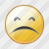 Icon Smile Sad 1 Image