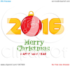 Happy New Year Greetings Clipart Image