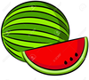 Musk Melon Clipart Image