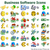Business Software Icons Image